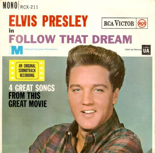 ELVIS PRESLEY Follow That Dream EP Vinyl Record 7 Inch RCA 1962